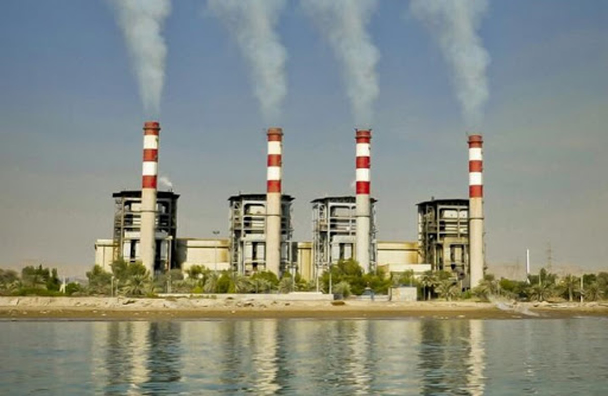 ساخت پمپهای خنککننده در نیروگاه بندرعباس