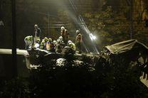 تصادف قطارها در بلژیک ۱۲ کشته و زخمی بر جای گذاشت