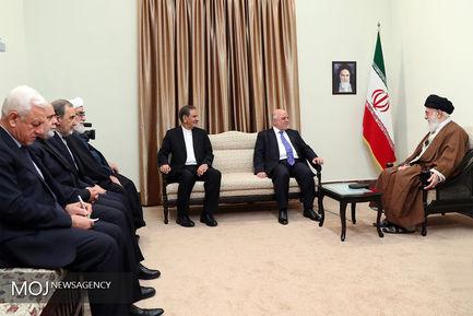 دیدار نخستوزیر عراق با مقام معظم رهبری
