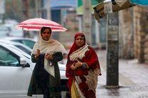 بارندگی در مناطق مرتفع هرمزگان/ افزایش دما طی هفته جاری