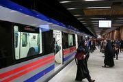 افزایش ظرفیت جابجایی مسافران مترو در خط ۴