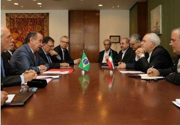 خواستار تسهیل مراودات تجاری میان ایران و برزیل هستیم