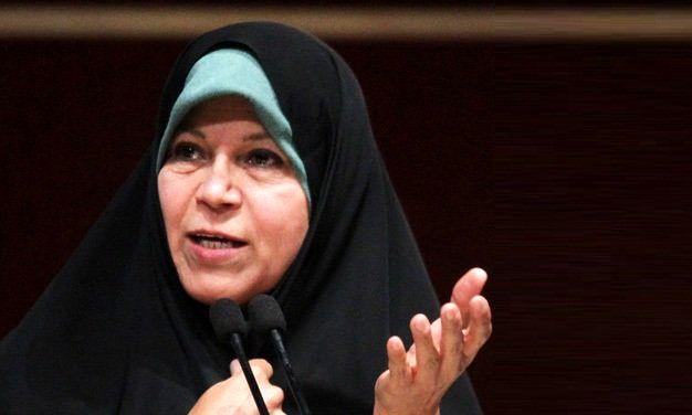 فائزه هاشمی: رعایت قانون باید پایه حرکت در کشور باشد