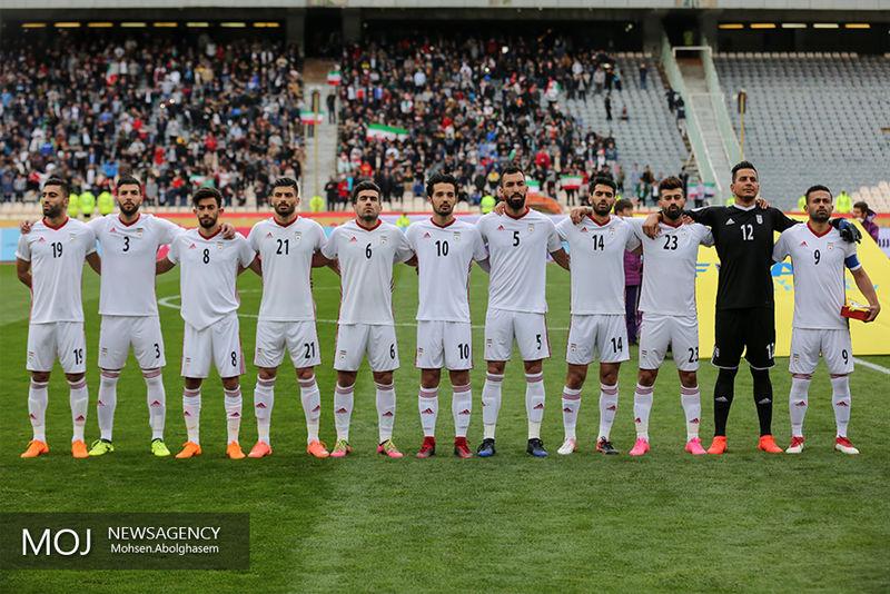 رده بندی تیم های ملی فوتبال جهان/  ایران به رده 30 جهان رسید