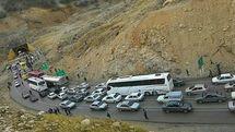 جاده ایلام به مهران مسدود شد