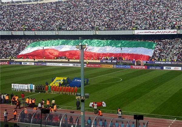 شعار بازی ایران با سوریه مشخص شد