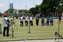 تیم کامپوند بانوان به مدال برنز رسید