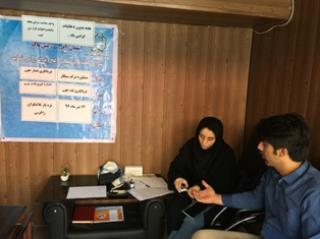 چکاپ پزشکی رایگان به مناسبت هفته بدون دخانیات در محله ولیعصر(عج)