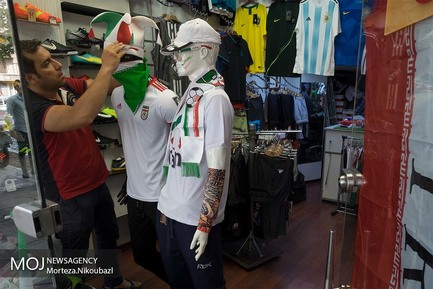 تب فوتبال در پایتخت ایران در آستانه آغاز مسابقات جام جهانی روسیه