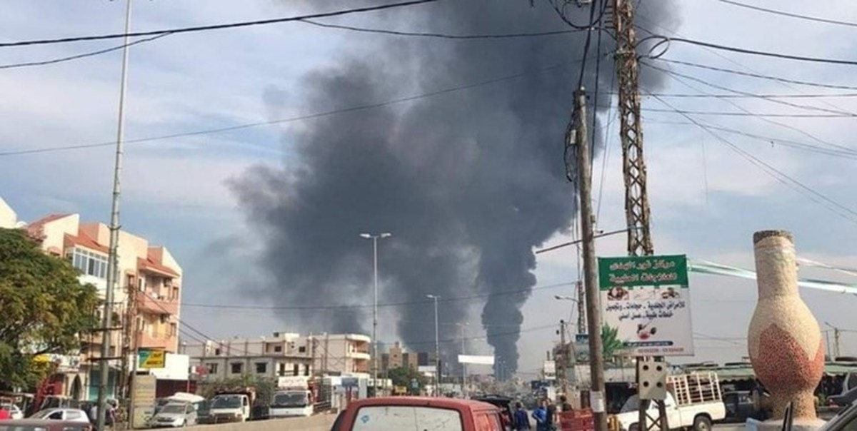 شنیده شدن صدای انفجار در تلآویو و نوار غزه
