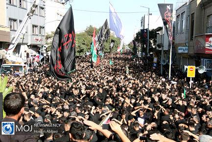 آیین عزاداری یوم العباس در زنجان