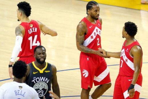 نتایج بازی چهارم فینال NBA/ تورنتو در یک قدمی قهرمانی