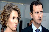 آخرین وضعیت جسمانی بشار اسد و همسرش پس از ابتلا به کرونا