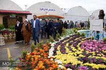 سومین جشنواره گل های زینتی در درچه افتتاح شد