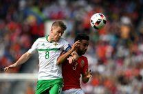 ایرلند شمالی تیم برتر میدان بود اما ولز شجاعت بیشتری از خود نشان داد