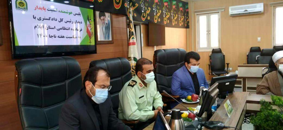 نیروی انتظامی امنیت و آرامش روانی را برای جامعه به ارمغان می آورد
