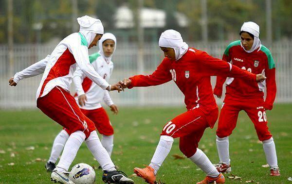 باخت دختران فوتبالیست ایران مقابل کره/ صعود تیم کره جنوبی به مرحله نهایی