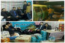 220 دستگاه تاکسی ون در قالب 14 کاروان به مناطق زلزلهزده اعزام شده اند