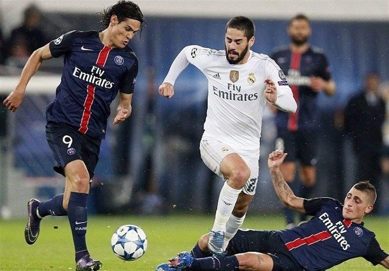 ساعت بازی برگشت پاری سن ژرمن و رئال مادرید مشخص شد