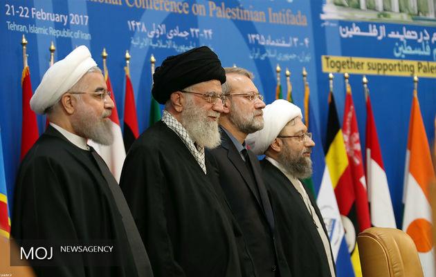 آغاز نشست نوبت عصر ششمین کنفرانس حمایت از انتفاضه فلسطین