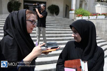 حاشیه جلسه هیات دولت - ۱ خرداد ۱۳۹۸