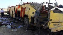 واژگونی اتوبوس در کمربندی شاهرود ۳۸ کشته و زخمی برجای گذاشت +اسامی مصدومان