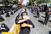 فقط ۵۰ درصد از عزاداران و دست اندرکاران برگزاری مراسم در مشهد ماسک داشتهاند