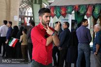 مشارکت 55 درصدی مردم کرمانشاه تا ساعت 20