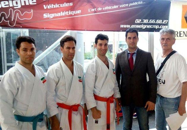 3 مدال نقره کاتاروهای اصفهانی در مسابقات بینالمللی فرانسه