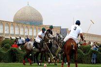 برگزاری مسابقات چوگان در میدان امام اصفهان