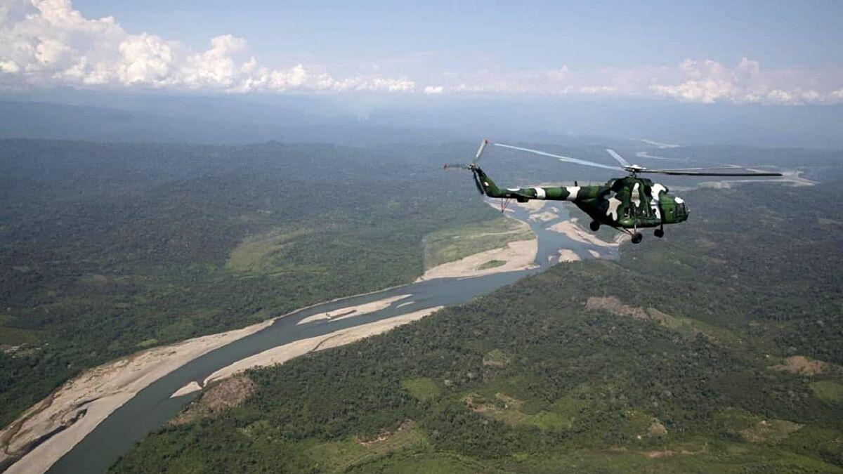 سقوط مرگبار یک بالگرد در پرو