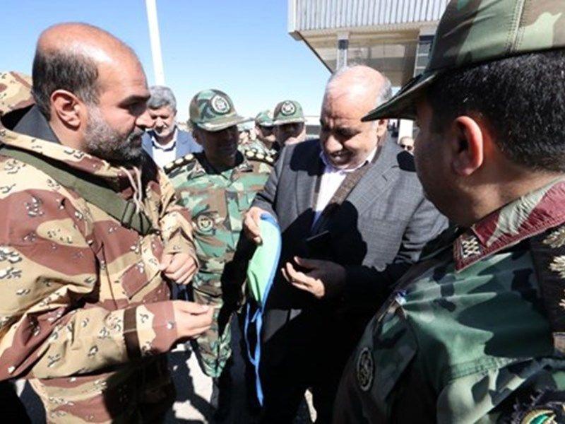 ارتش در کرمانشاه به میدان آمد/ همه باهم علیه کرونا