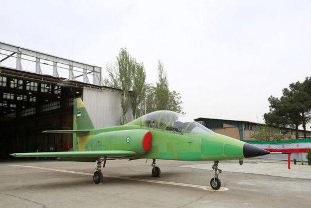 نخستین هواپیمای جنگنده ایرانی به پرواز درآمد