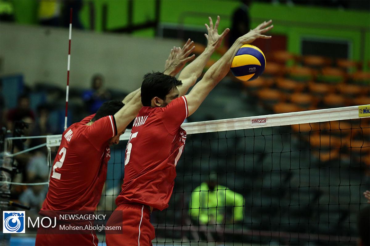 فهرست ملی پوشان والیبال ایران برای دیدار مقابل هلند مشخص شد
