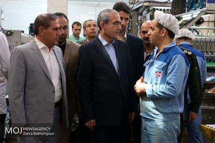 بازدید استاندار آذربایجان شرقی از شهرک صنعتی سلیمی