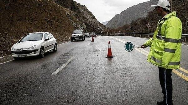 محدودیت ترافیکی جادهها در آخر هفته اعلام شد