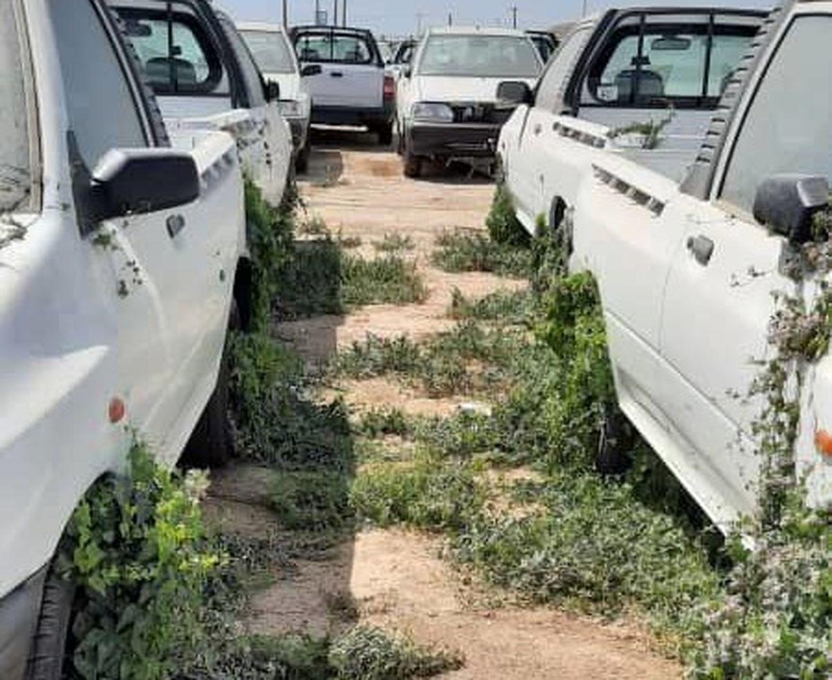 پشت پرده دپوی خودرو در پارکینگ های بزرگ