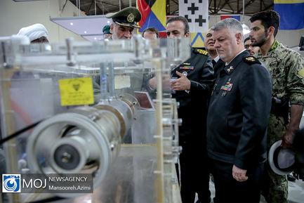 نمایشگاه دستاوردهای دفاعی نیروی دریایی ارتش