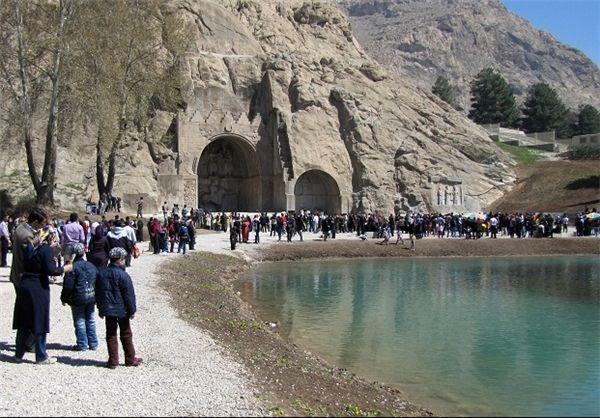 18 هزار گردشگر از بیستون و 19 هزار نفر از تاق بستان بازدید کردند