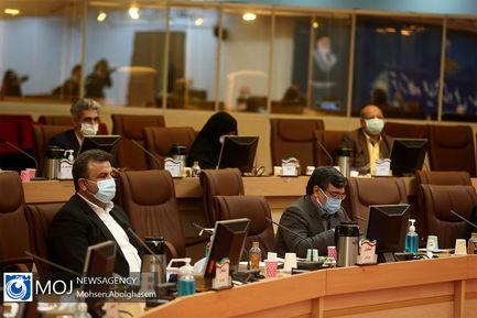 جلسه قرارگاه عملیاتی ستاد ملی مبارزه با کرونا - ۱۲ آبان ۱۳۹۹