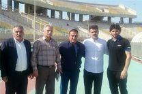 فرهاد کاظمی در رختکن حریف و غیبت 5 بازیکن استقلال