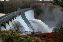 بارش ۴۲۹ میلیمتری در سال جاری/۱۰۰ درصد حجم سد اکباتان پر است