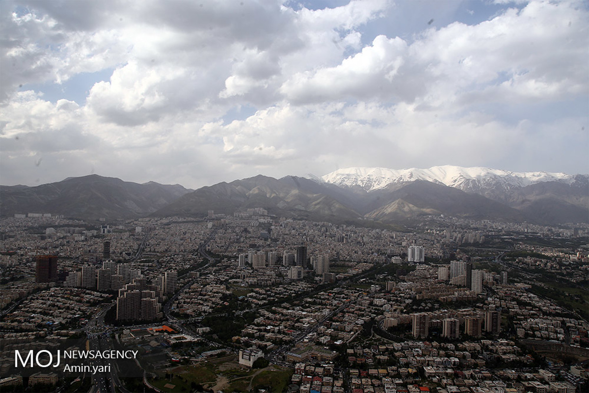 کیفیت هوای تهران ۱۶ فروردین ۹۹/ شاخص کیفیت هوا به ۶۴ رسید