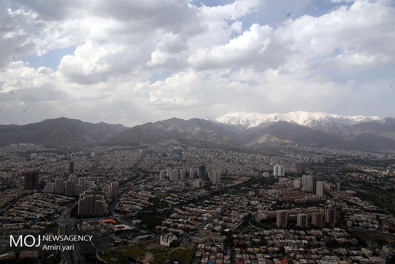 کیفیت هوای تهران در 22 اردیبهشت 98 سالم است