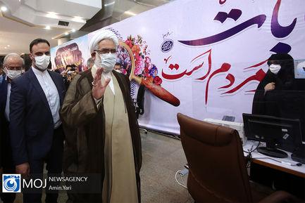 بازدید دادستان کل کشور از ستاد انتخابات