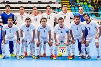 لغو بازی تیم ملی فوتسال ایران با ازبکستان