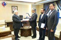 دیدار سفیر ایران در سوریه با ولید المعلم