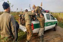 دستگیری متخلفین شکار پرندگان وحشی در آستانه اشرفیه