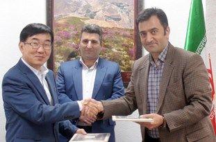 امضای تفاهمنامه همکاری شرکت هیونوا کره جنوبی با یک شرکت آملی