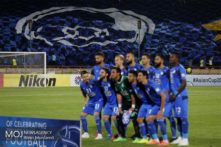 دیدار تیم های فوتبال استقلال ایران و السد قطر/عکس تیمی استقلال